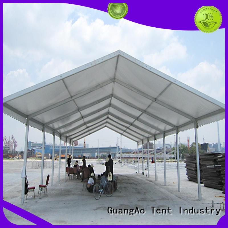 tent builders warehouse tents industrial Outdoor Storage GuangAo