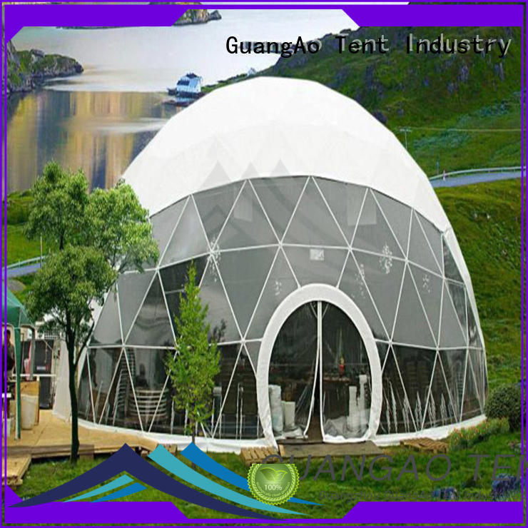 luxury design geodesic dome tent for sale manufacturer room