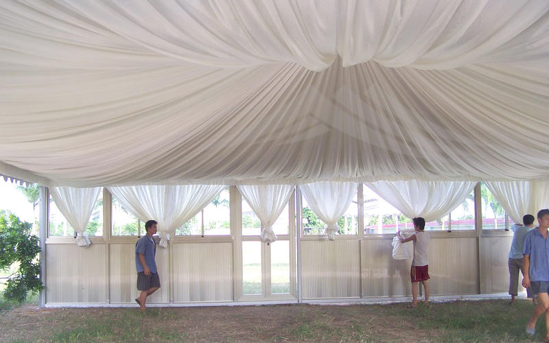Guang Ao manufacturer high quality wedding pagoda tent 10mx10m