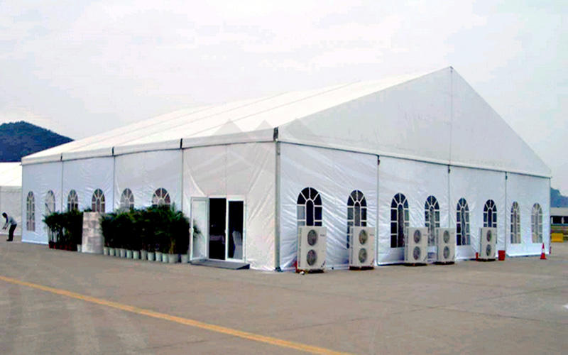 Guang Ao first grade soundproof aluminum wedding tent 50x60