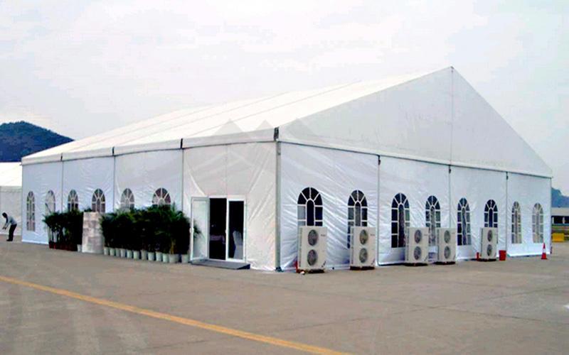 Guang Ao first grade soundproof aluminum wedding tent 50x60