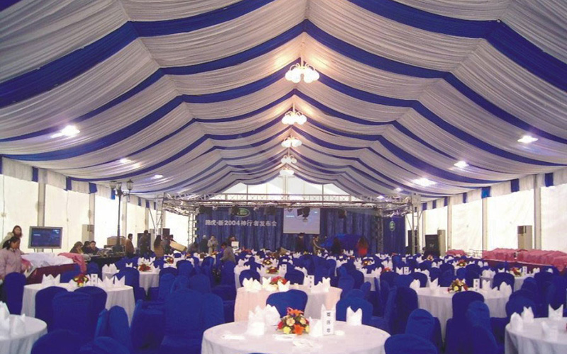 GuangAo-First Grade Soundproof Aluminum Wedding Tent丨Guangao Tent