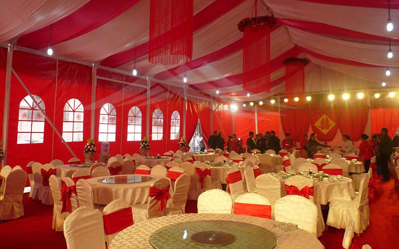 GuangAo-First Grade Soundproof Aluminum Wedding Tent丨Guangao Tent-1