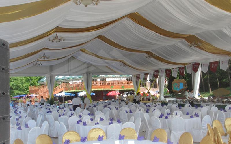 GuangAo-First Grade Soundproof Aluminum Wedding Tent丨Guangao Tent-16