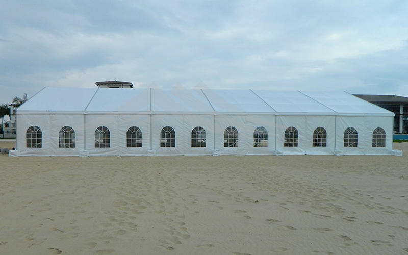 Guang Ao luxury marquee garden wedding party tent 15x50 300 people