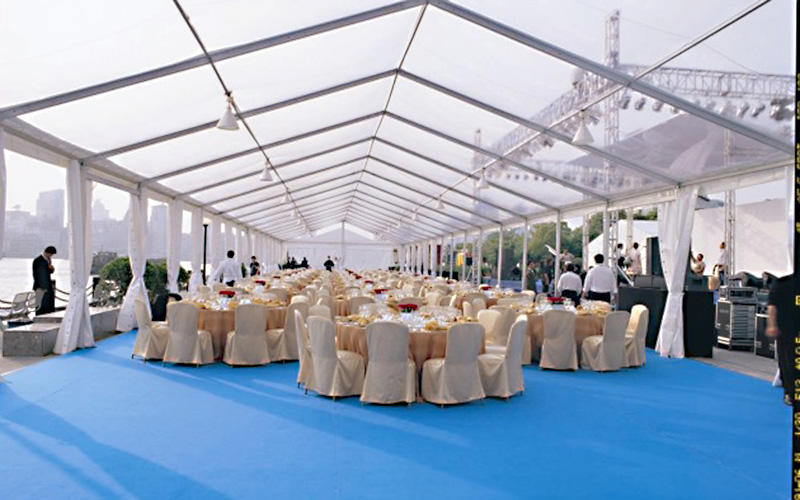 Guang Ao top grade clear structure tent for wedding banquet 1000 people