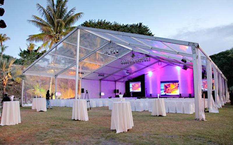 GuangAo-Top Grade Clear Structure Tent For Wedding Banquet | GuangAo