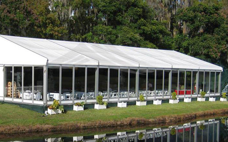 China Guang Ao supplier manufacture top quality structure pvc party tent