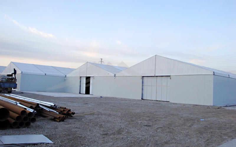 Guang Ao fireproof industrial tent warehouse tent 50x50