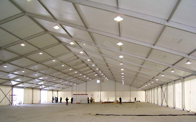 Guang Ao wind resistant large industrial tent for warehouse