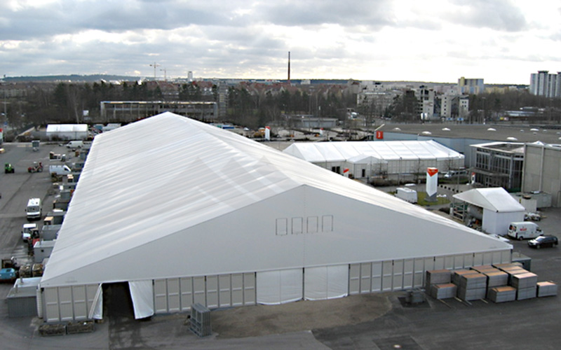 GuangAo-Wind Resistant Large Industrial Tent For Warehouse | Guangao Tent