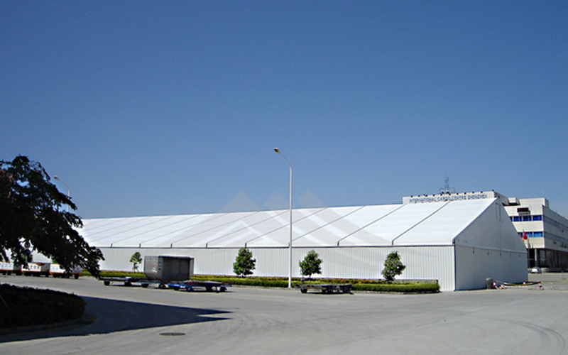 GuangAo-Wind Resistant Large Industrial Tent For Warehouse | Guangao Tent-2