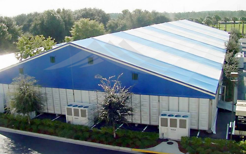 GuangAo-Wind Resistant Large Industrial Tent For Warehouse | Guangao Tent-3
