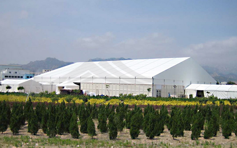GuangAo-Wind Resistant Large Industrial Tent For Warehouse | Guangao Tent-4