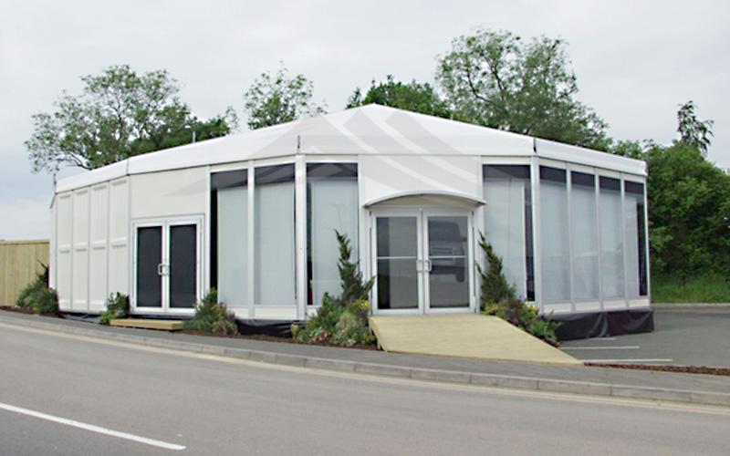 Customized Outdoor Commercial Activities Octagon Exhibition Tent