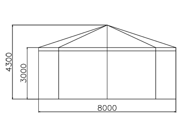 GuangAo-Customized Outdoor Commercial Activities Octagon Exhibition Tent-2