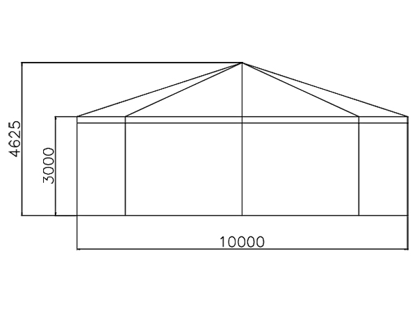 GuangAo-Customized Outdoor Commercial Activities Octagon Exhibition Tent-3