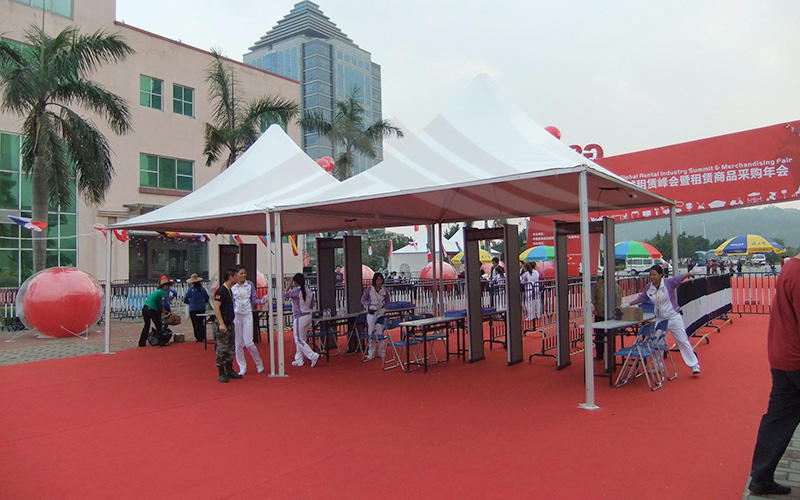 Aluminum Marquee Canopy Exhibition Pagoda Tent For Outdoor Event