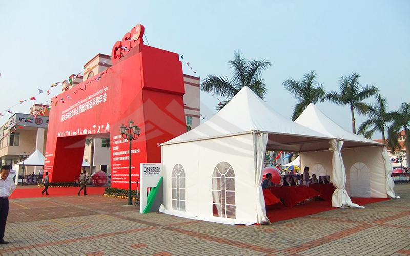 GuangAo-Find Aluminum Marquee Canopy Exhibition Pagoda Tent丨GuangAo-1