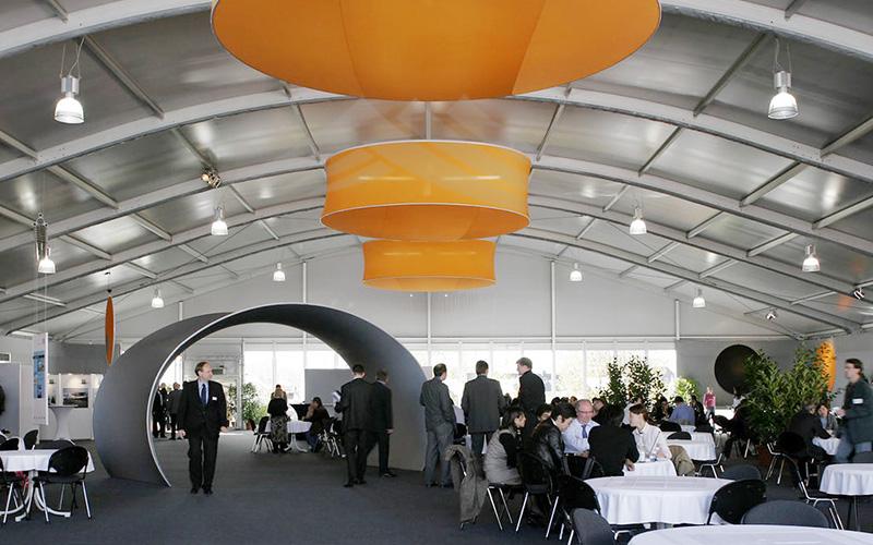 GuangAo-Guangzhou Wholesale Aluminum Structure Curve Shape Tent-8