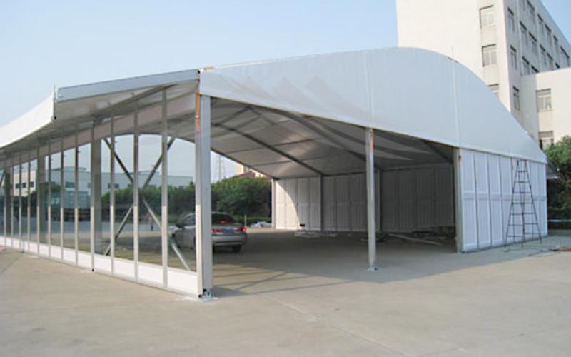 GuangAo-Guangzhou Wholesale Aluminum Structure Curve Shape Tent-9