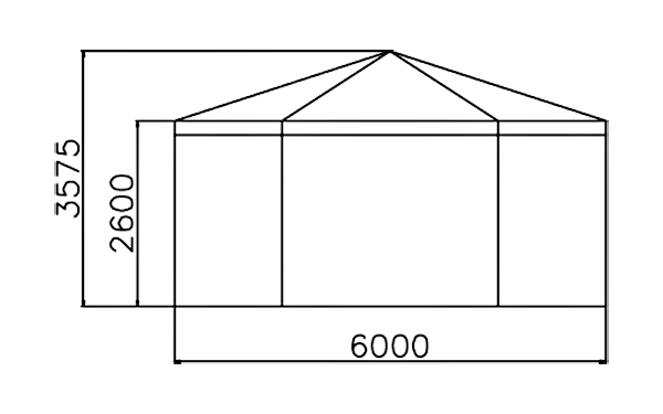 GuangAo-Best Outdoor Marquee Hexagonal Tent With Glass Wall For Exhibition-2