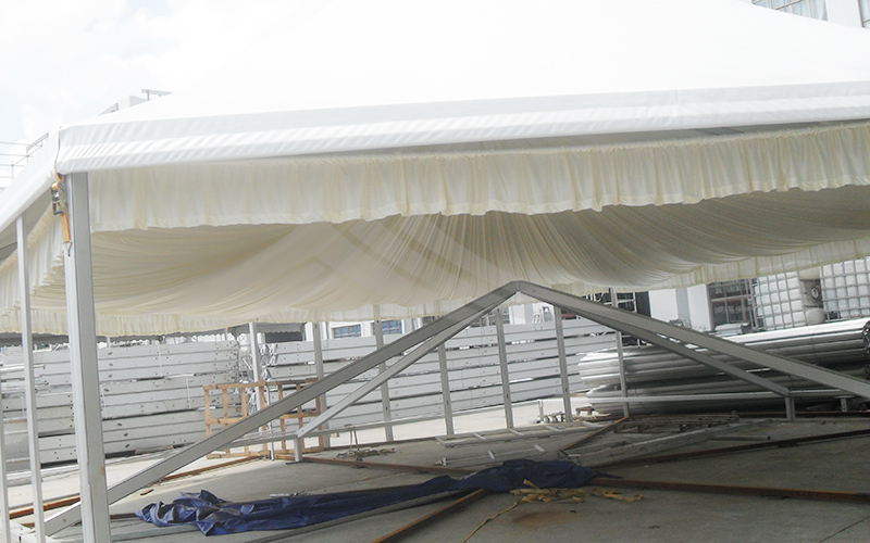 GuangAo-Best Outdoor Marquee Hexagonal Tent With Glass Wall For Exhibition-9