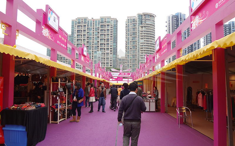 GuangAo-A Shape Roof Commercial Exhibition Event Tent丨Guangao Tent Industry-1