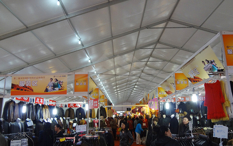 GuangAo-A Shape Roof Commercial Exhibition Event Tent丨Guangao Tent Industry-16