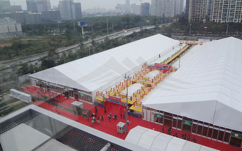 GuangAo-A Shape Roof Commercial Exhibition Event Tent丨Guangao Tent Industry-18
