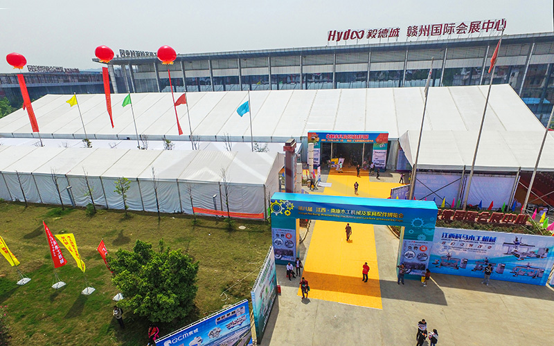 GuangAo-Best Outdoor Trade Show Tent And Exhibition Canopy Tent-1