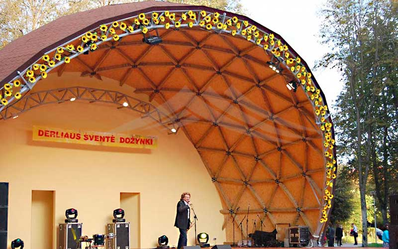 GuangAo-Best Semi-circle Performance Canopy Half Geodesic Dome Tent-2