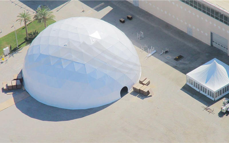 Factory Direct Supply Customized Outdoor Dome House Tent Geodesic Dome