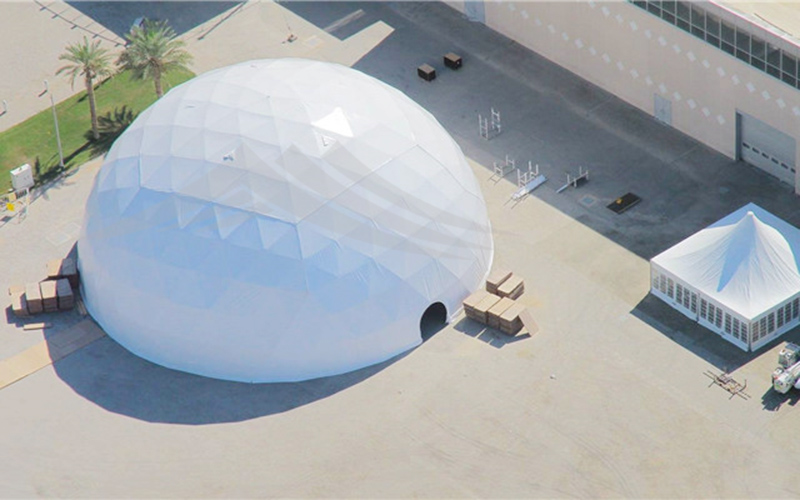GuangAo-Customized Outdoor Dome House Tent Geodesic Dome丨GuangAo-2