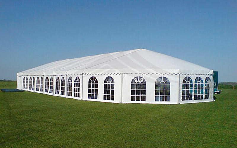 Guang Ao wind resistant high peak mixed marquee party tent 40x40
