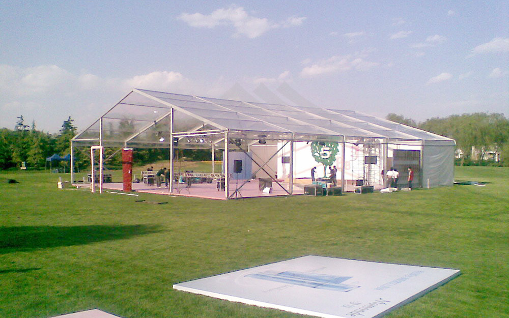 GuangAo-Clear Roof Cover Marquee Wedding TentTent Industry