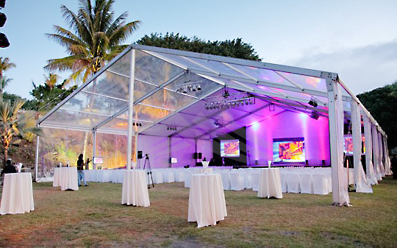 GuangAo-Clear Roof Cover Marquee Wedding TentTent Industry-4