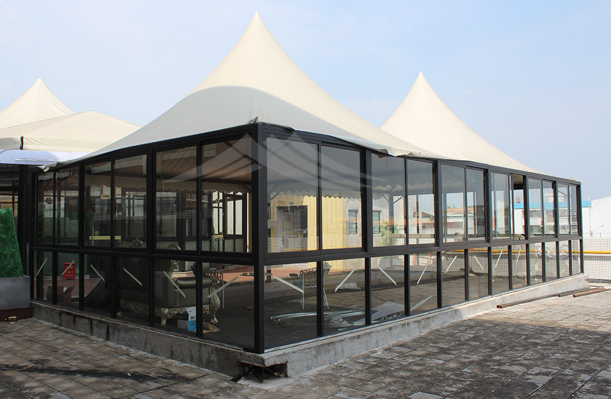 GuangAo-Vienna hotel outdoor cafe tent   Tent Manufacturers-2