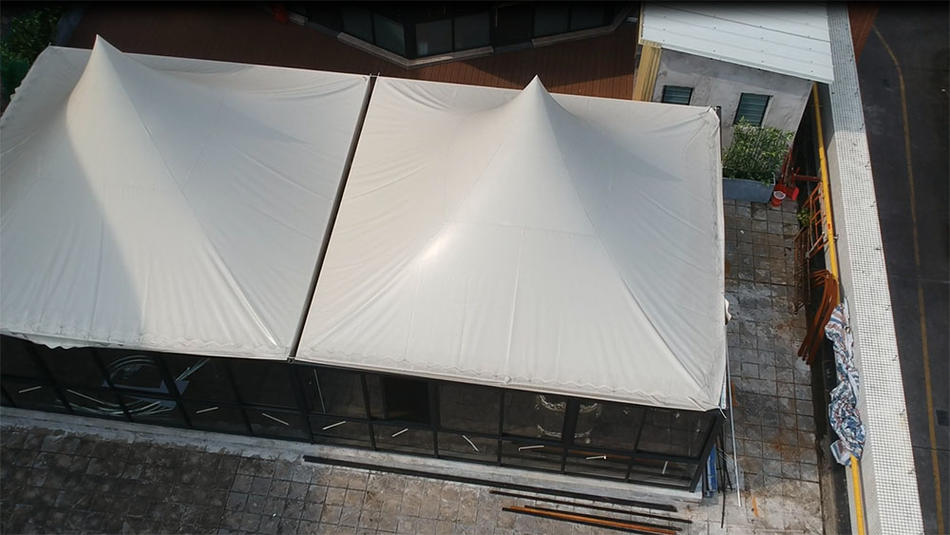 outdoor cafe tent