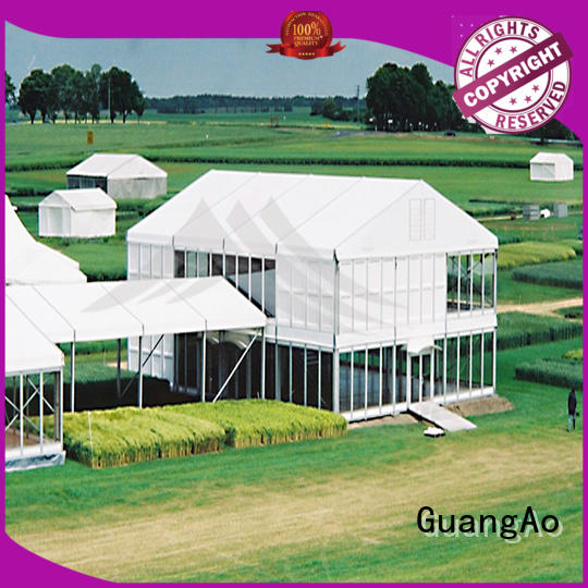 GuangAo water proof awning over deck on-sale Exhibitions