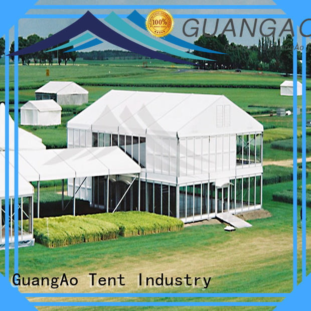 GuangAo water proof deck tents canopies at discount Promotion