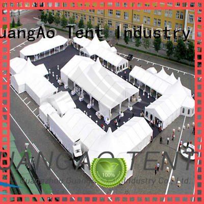 GuangAo party high quality tents portable Exhibitions