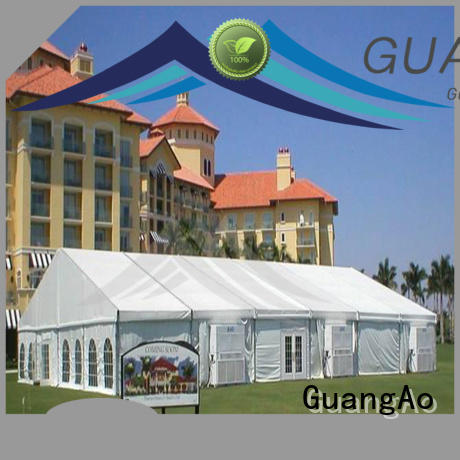 GuangAo party commercial party tents for sale durable for party