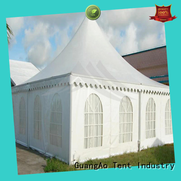 GuangAo customized cheap canopy tents for sale oem for exhibition