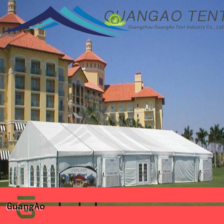 GuangAo top quality big party tents portable for party