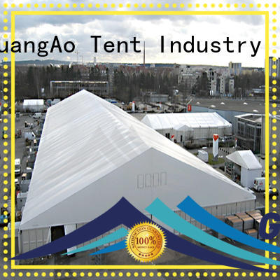 GuangAo fireproof industrial warehouse tent tent Outdoor Storage
