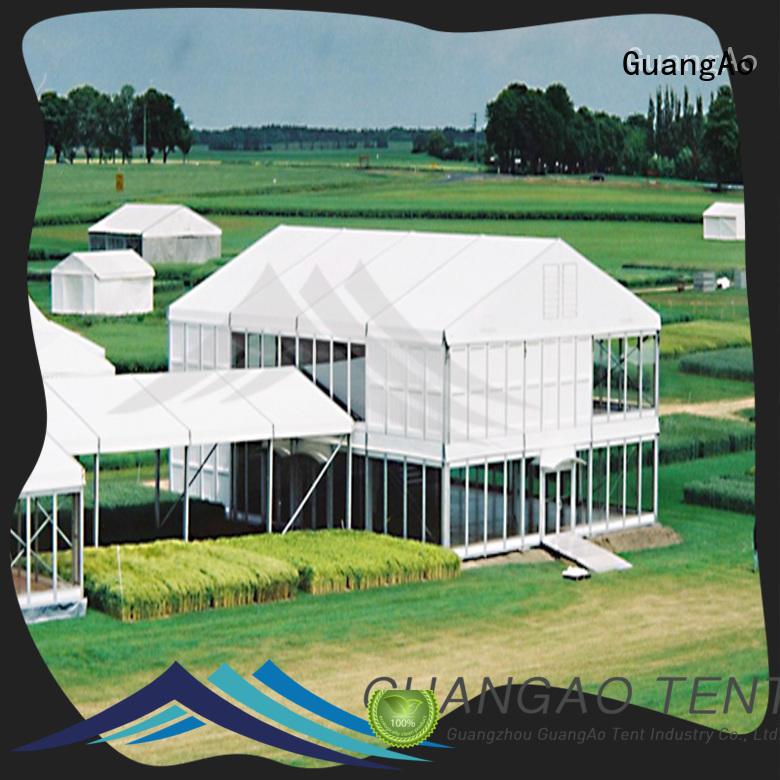 GuangAo tent deck tents canopies at discount Promotion