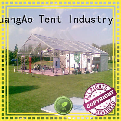 GuangAo tent clear top tent wedding Exhibitions