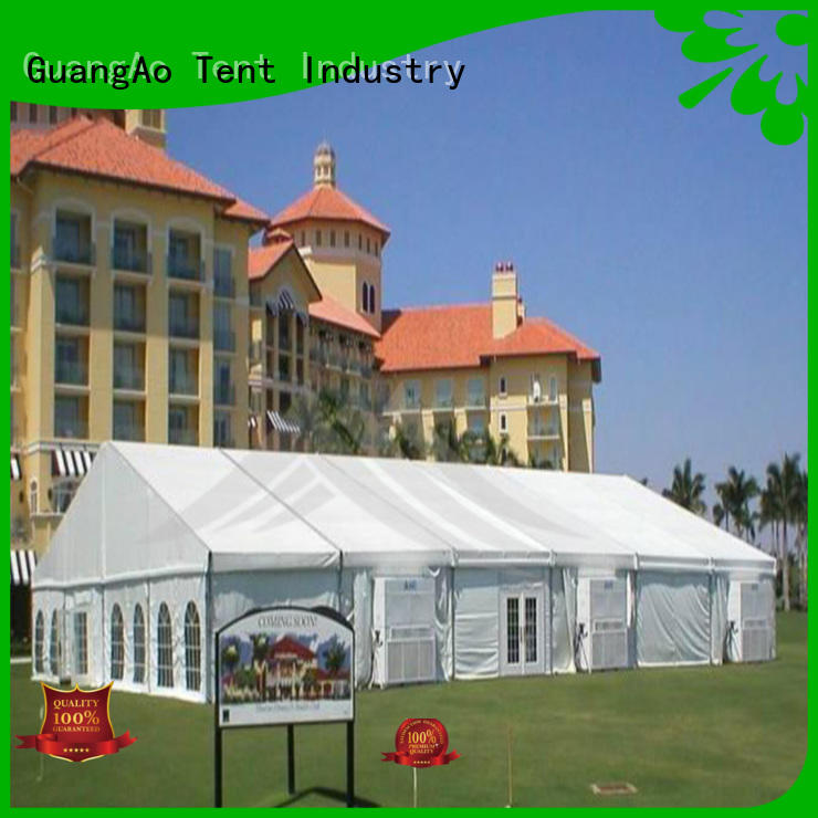 GuangAo manufacture 20x30 party tent at discount for party
