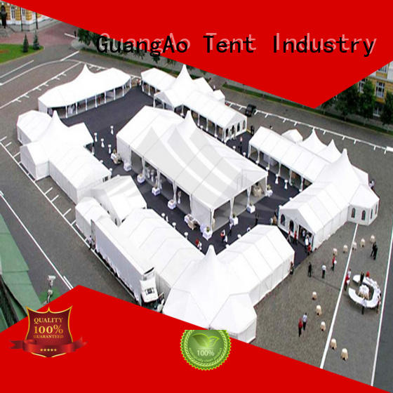 GuangAo tent high tents portable Outdoor Event Promotion